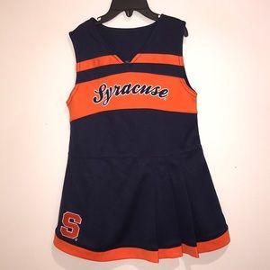Syracuse Orange Cheer Dress NWOT 4T